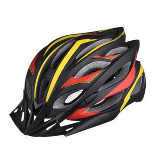 Bicicleta Capacete Da Bicicleta Ciclismo Adulto Ajustável Equipamentos de Segurança Unissex Vents Bicicleta de Estrada Capacete Casco Ciclismo Integralmente Esporte Ultraleve
