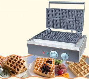 BEIJAMEI hotel Equipo eléctrico Bélgica Waffle hierro máquina comercial Plaza Belgian Waffle Machine Maker en venta