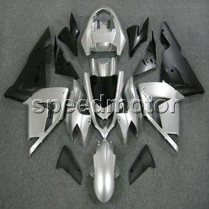 23colors + Gifts silver bodywork Motorrad Verkleidung für Kawasaki ZX10R 204 2005 ZX-10R 04-05 ABS-Kunststoff-Kit