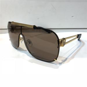 Роскошные 2168 солнцезащитные очки для мужчин мода дизайн полный кадр UV400 УФ - Защита объектива стимпанк лето квадратный стиль Comw с пакетом