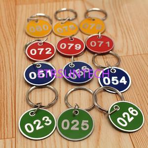 열쇠 고리 QW7973를 가진 반지 금속 상표 꼬리표 번호 카드 격판 덮개를 가진 알루미늄 합금 금속 표시 Keychain Signage