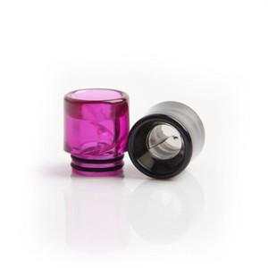 colorati in plastica 810 punte del gocciolamento per CIGS Kennedy rda Drip Tip serbatoi Vape 810 atomizzatori filo tfv8 Bocchino nuove invenzioni