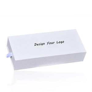 Personalizzato scatola di orologi di lusso bianco Confezione regalo di design con il proprio design Personalizzato scatola di presentazione OEM Personalizza in orologio