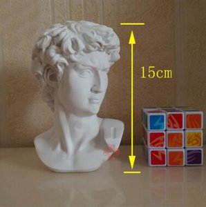 Promotion haute qualité mini David statue environ 15cm Avatar européen ornements art enseignement outil cadeau d'anniversaire T223