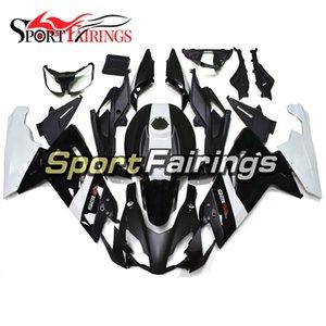 Aprilia RS125 Için Kaplamalar 06-11 2006-2011 Enjeksiyon Plastik ABS Kaplamalar Motosiklet Kaplama Kiti Karoseri Cowling Beyaz Siyah Paneller