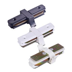 موصلات القضبان LED تضيء 2 مسارات سلكية I T L و Cross 4 أنواع من اللون الأبيض والأسود