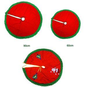 90cm Weihnachtsmann-Baum-Rock Weihnachtsbaum-Röcke Weihnachtsschneemann-Baum-Dekoration Weihnachtsversorgungen Weihnachtsdekoration