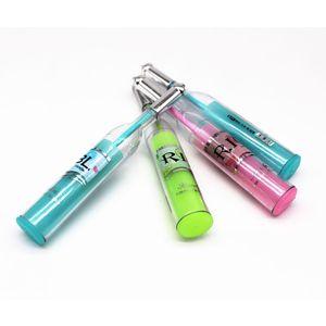 1PCS Sell Candy Color Crown Pen Diamond Ballpoint Pens Stationery Ballpen Stylus Pen Touch Oily Black Refill 0.7Mm