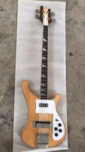 도매 새로운 도착 rickenbackr 4003 일렉트릭베이스 기타 마호가니 몸, 목에 자연 4003 통해 180620-0720