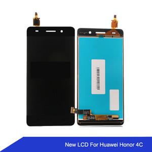Para huawei honor 4c display lcd repair touch screen 100% novo digitador painel de toque de vidro para a honra 4c / g play frete grátis