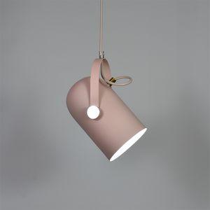 Nordic Подвесные Светильники Macaron Алюминиевый LED подвесной светильник для Кухни Ресторан Свет Потолочные светильники домашнего освещения E087