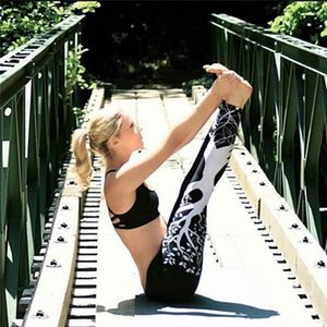 الأزياء 3d المطبوعة طماق المرأة رفع عالية الخصر طماق 3d شجرة الرقمية طباعة سليم البوليستر المتناثرة طماق السراويل YWYS7020
