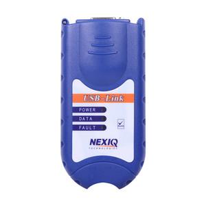 Nova chegada NEXIQ Auto Heavy Duty Scanner Truck ferramenta NEXIQ USB Link melhor do que DPA5 à venda nexiq 125032 usb link DHL Livre