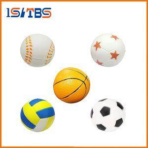 Squishy Toy Mano Fútbol Baloncesto Béisbol Ejercicio Suave Elástico Squuze Anti-Stress Ball Kid Small Ball Juguete adulto Masaje Squishy