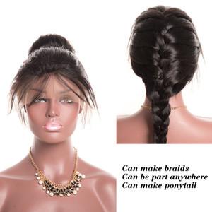 ZF intrecciare i capelli intrecciati parrucche del merletto 20-26 pollici della fibra della Corea che intrecciano i capelli della treccia francese diritta anteriore sintetica del merletto di Afro