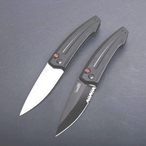 Cuchillo táctico auto Kershaw 7200 de gama alta Cuchillo táctico 8Cr13 de punta única Drop Point T6061 Mango de aluminio con paquete de caja al por menor
