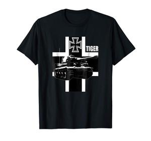 독일 Ww2 타이거 도매 할인 티셔츠 전복 셔츠 새 도착 남성 티즈 캐주얼 보이 티셔츠 탑스 할인 2018 최신
