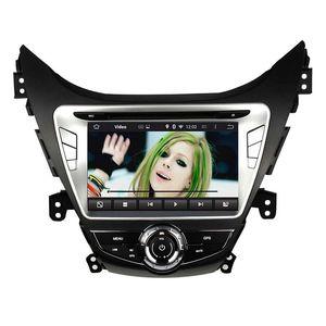 Автомобильный DVD-плеер для HYUNDAI Elantra Avante I35 2011-2013 8inch Andriod 6.0 2GB RAM с GPS, рулевым колесом, Bluetooth,радио