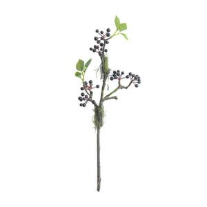 Beere künstliche Blume Weihnachten Moos Frucht Zimmer Hotel Dekoration Hochzeit mit Blume Wand Pflanze Wand gefälschte Blume