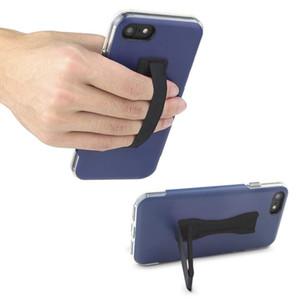 Soporte de agarre para teléfono celular, soporte universal para el dedo de la correa del teléfono con soporte de salida para hombres y mujeres, ultra delgado bolsillo amigable