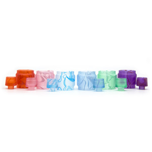 Valyrian Replacement Acrylic Tube Kit Extended Capacity Tank and Drip Tip 6 Colors Resin Tube E cig Accessories DHL