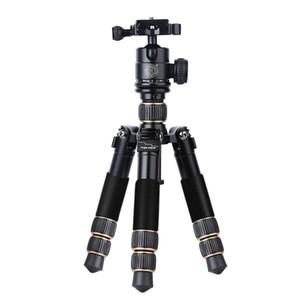 pieghevole leggera e tavolo fibre corte di carbonio corredo della macchina fotografica mini treppiedi piegano solo 20cm peso è 0.916kg