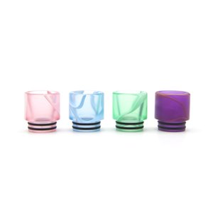 810 TFV8 Acrylic Drip Tip TFV12 Prince Resin Tip Wholesale Epoxy Resin Mouthpiece for 810 Tank