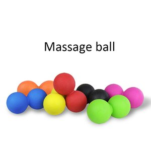 Массаж Ball Fitness Арахисный шар Крестообразная терапия Тренажерный зал Relax Упражнение Лакросс для йоги Спорт Unisex Fitness Balls Главная