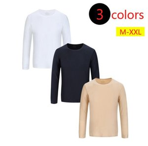 New Noble Flocking Men's Clothing Mens Super Soft Invisible long sleeved T-shirts Male Simple fashion Tops both for Women and Men bottoming
