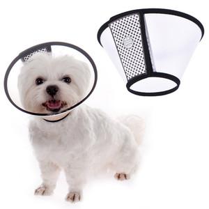 Collare di guarigione per cani da compagnia Collare cono elisabettiano Collare protettivo Collare di guarigione ferita Prevenire il cucciolo di gattino leccare la ferita