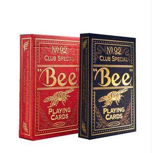 Golden Bee PLC066 Cartes à jouer 88 * 63mm Cartes de Poker de catégorie Magique pour Carte de Magicien Professionnel