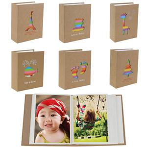 100 Bolsos de 6 polegada Photo Album Picture Frame de Armazenamento para Crianças Crianças Presente Scrapbooking Picture Case Álbum de fotos
