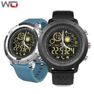 Wq nx02 smart sport watch homens esporte pedômetro ip68 à prova d 'água smartwatch relógios de controle remoto dispositivos wearable para android ios