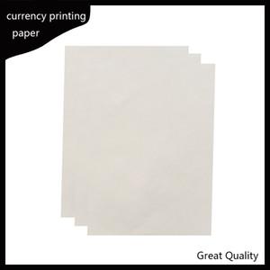 216 * 279 mm papel de impresión 75% algodón 25% de lino pase papel de prueba de bolígrafo falsificado venta caliente de alta calidad en EE. UU.