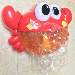 Mignon Drôle Crabe Musique Machine À Bulles Machine Souffleur Jouet Avec Chansons Enfants Bébé Bain Douche À Bulles Jouet