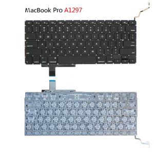 """POUR APPLE Nouveau clavier américain Macbook Pro A1297 17 """"Clavier Unibody américain non rétroéclairé 2009 2010 2011"""