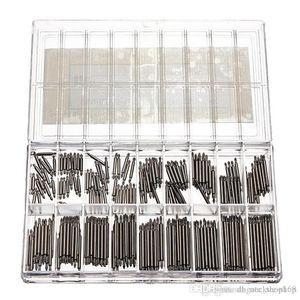 Venta caliente 360 Unids Relojes de Acero Inoxidable Barras de Resorte Correa Link Pins 8-25mm Relojero