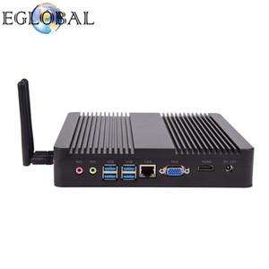 Eglobal 2018 эксклюзивный 4K Desktop V8-4200U с серебристым или черным алюминиевым сплавом Max 2,6 ГГц Intel Haswell Cheap Mini PC
