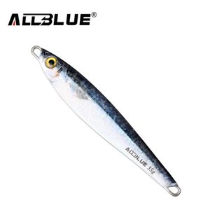 Metal Jigging Spoon 35g 3D Print Laser Artificial Bait Boat Fishing Jig Lures Super Hard Lead Fish Fishing Lures