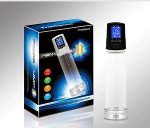 Pompe électrique de pénis, pompe à vide automatique rechargeable forte d'élargissement de pénis d'USB, élargisseur de pénis d'érection, prolongateur de pénis