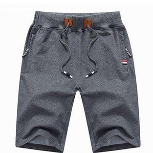 Legible 2018 Verão Mens Praia Shorts de Algodão Casual Masculino Curto homme Marca de Roupas Dos Homens Sólidos Shorts 4XL