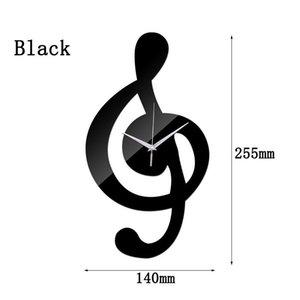 Nice Design Orologio da parete con la nota nuova figura Clock Timepieces fai da te