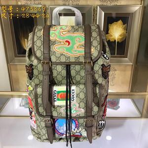 2018 bolsos de lujo de alta calidad para hombres y damas G #, bolsos y mochilas, la mejor calidad, tamaño: 28 cm * 45 cm * 20 cm