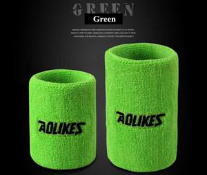 12 Colori Palestra Yoga Sudore Cotone Braccialetti Sport Muñequera Brace Support Sweatband Por tenis Badminton Esecuzione 1 PZ