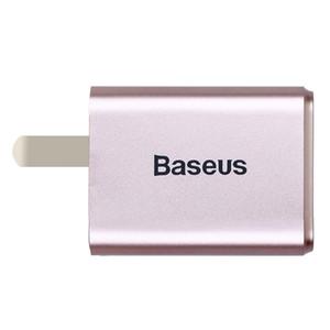 Baseus Dual USB Ladegerät 2.4A Fast Charge US-Stecker-Adapter-beweglicher Spielraum-Wand-Aufladeeinheit für Universal Handys und Tablet