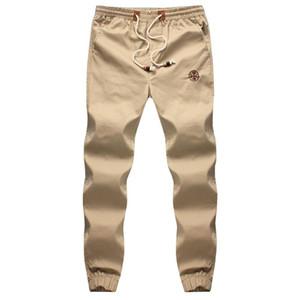 Оптово-Большой размер M-5XL 2015 Новый дизайн Повседневная винтажная мода Луч ноги Мужские брюки Летняя мода Мужские Бегуны Шаровары Мужские 4 цвета