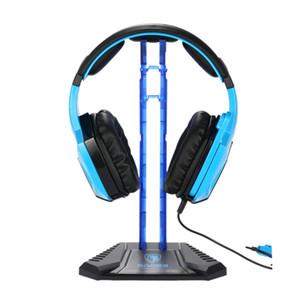 SADES Gaming Headphones Stand Base de Fone De Ouvido Titular Rack de Exibição Profissional Headset Hanger Suporte Suporte de Fone De Ouvido