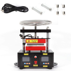 Prensa de calor manual de envío gratis para extracción de aceite de resina sin solvente
