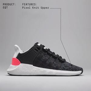 Con Box EQT 93 17 ultra shoe Support Future nero bianco rosa stemma Pack Uomo donna turbo rosso sportivo sportivo sneaker