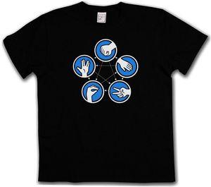 T-shirt Rock Theory di Big Black Paper - Sheldon Paper Cooper Stone Lizard New Maglietta Funny Tops Tee Shirt